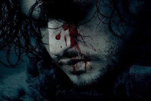 Le visage ensanglanté deJon Snow se retrouve sur... (image fournie par hbo)