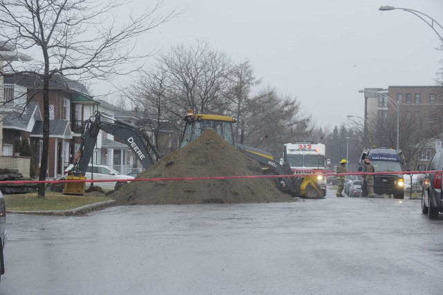 Une fuite de gaz est survenue à Shawinigan... (Sylvain Mayer)