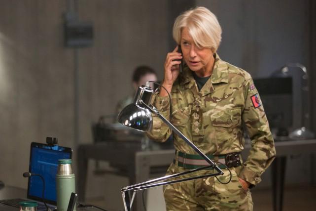 La grande Helen Mirren, dans un contre-emploi, est... (Fournie par Les Films Séville)