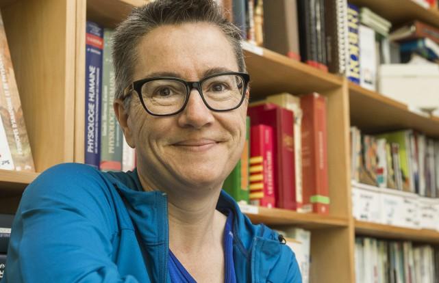 Dominique Dubuc est professeure de biologie au Cégep... (Spectre Média, Frédéric Côté)