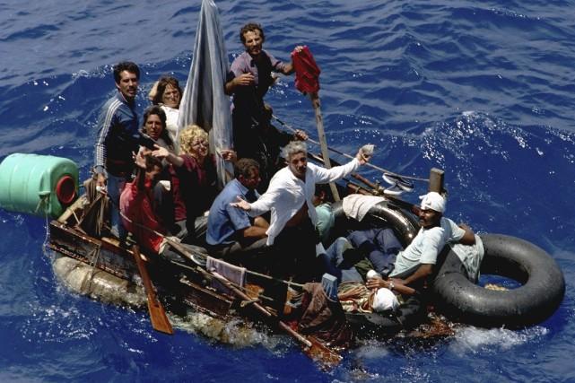 En 1994, l'afflux de «balseros» avait conduit à... (Archives AP, Hans Deryk)