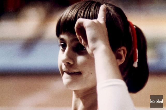 Nadia Comaneci, la reine des Jeux de Montréal... (Archives Le Soleil)