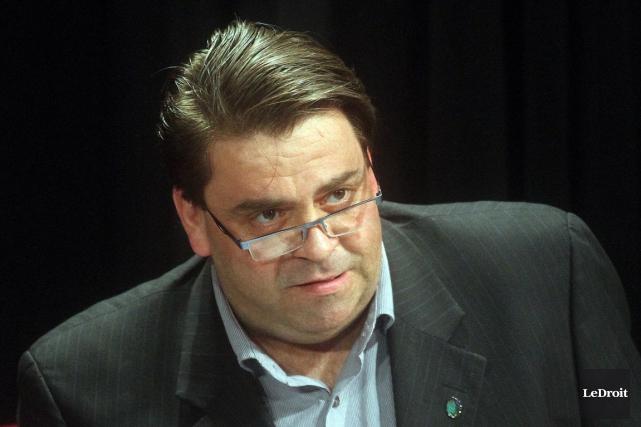 Le conseiller Marc Carrières'est joint au RÉMI vendredi,... (Étienne Ranger, Archives LeDroit)
