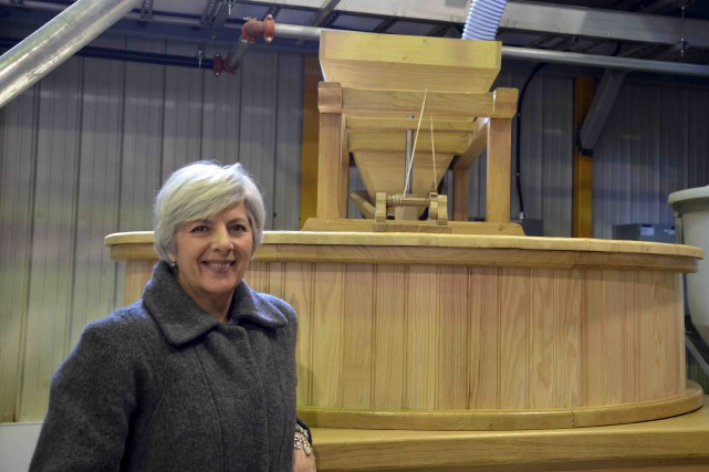Denise Verreault a inauguré la Minoterie des Anciens,... (Collaboration spéciale Johanne Fournier)