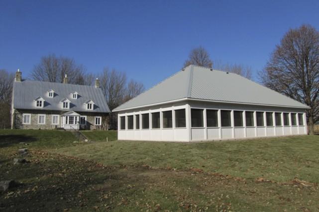 Le nouveau pavillon du Vieux Presbytère de Batiscan....