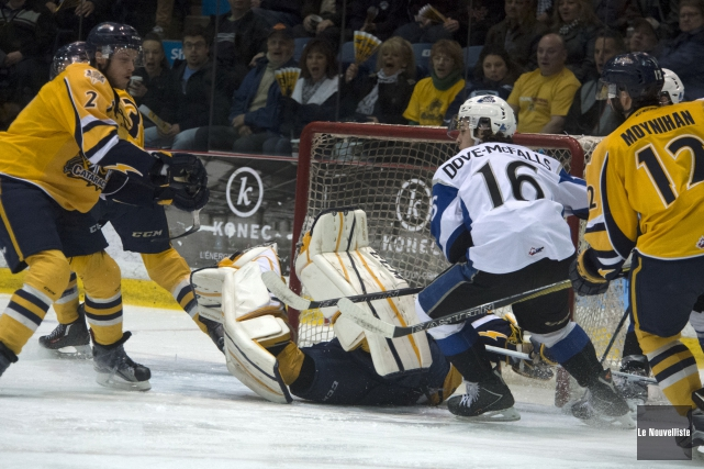 Les Cataractes de Shawinigan se sont inclinés en... (Photo Le Nouvelliste)