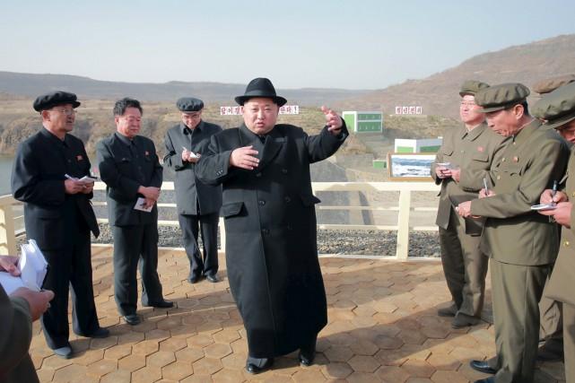 De nombreux observateurs estiment que le dirigeant Kim... (PHOTO REUTERS/KCNA)