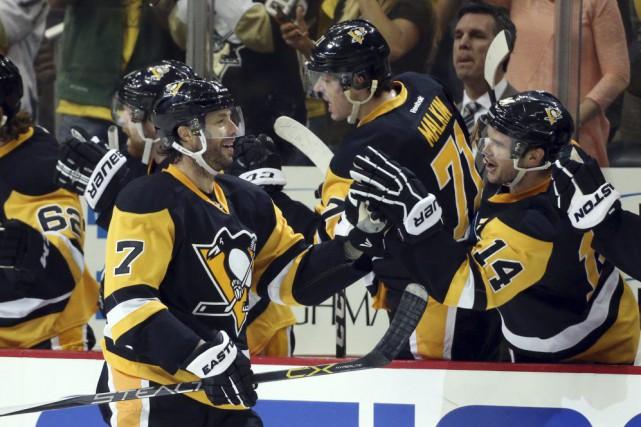 Mike Sullivan avait raison. Le passé est le passé pour les Penguins de... (Photo AP)
