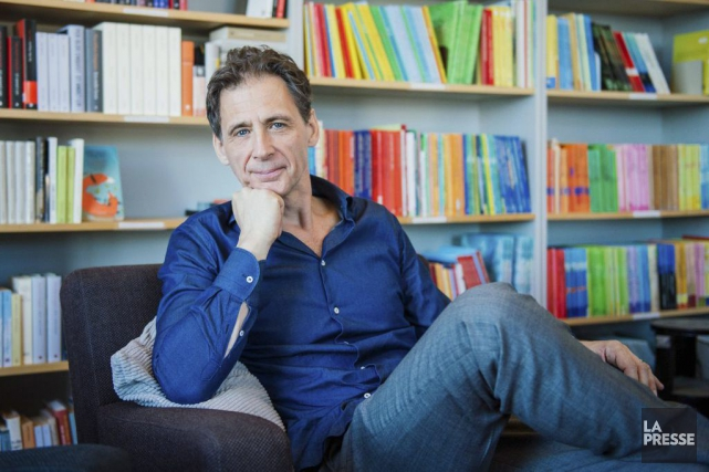Le romancier suédois David Lagercrantz, chargé d'écrire une... (Archives AFP, Jonathan Nackstrand)