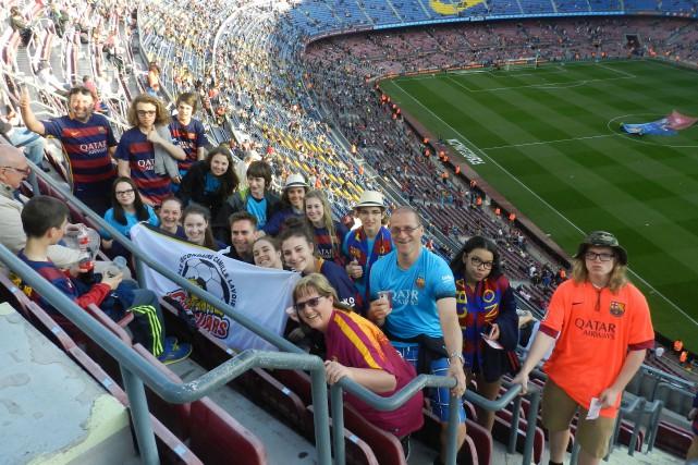 Les participants ont assisté à un match du... (Photo courtoisie)