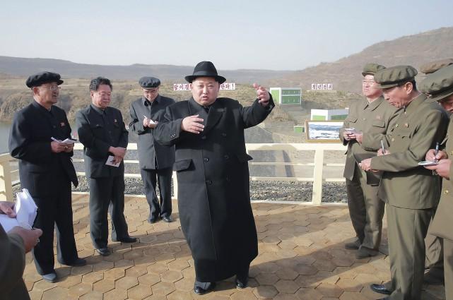Kim-Jong Un, dirigeant de la Corée du Nord... (Agence France-Presse)