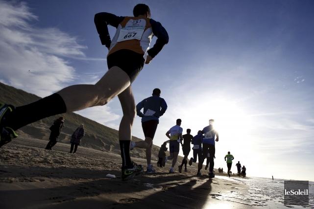 Il est rare qu'un athlète meurt en pratiquant... (Photothèque Le Soleil)