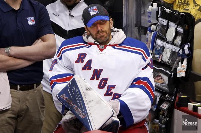 Le gardien étoile des Rangers Henrik Lundqvist a... (AP, Gene J. Puskar)