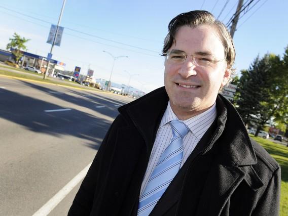 L'ex-candidat aux élections municipales de 2013 à Saguenay,... (Archives Le Progrès-dimanche)