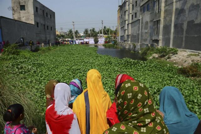 Des survivants de cette tragédie, l'un des plus... (Photo Munir Uz Zaman, Agence France-Presse)