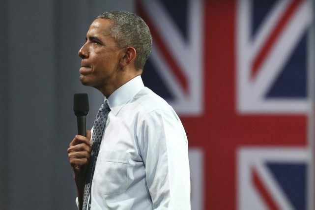 Barack Obama... (PHOTO JUSTIN TALLIS, AGENCE FRANCE-PRESSE)