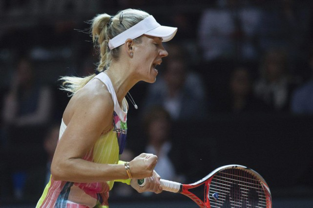Angelique Kerber... (PHOTO THOMAS KIENZLE, ARCHIVES AGENCE FRANCE-PRESSE)