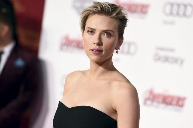 Scarlett Johanssona une feuille de route impressionnante pour... (AP, Jordan Strauss)