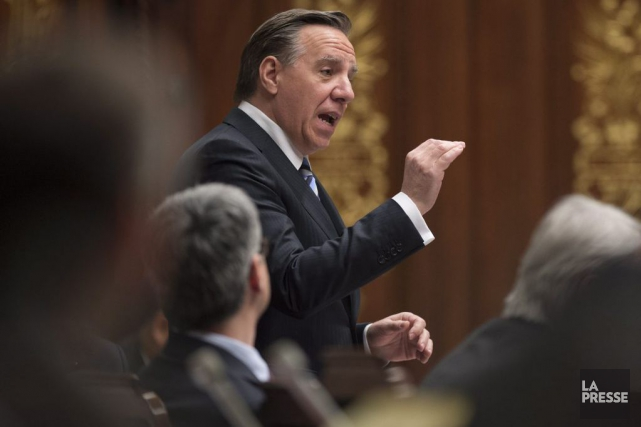 Le chef de la CAQ a proposé de... (Photo La Presse Canadienne)