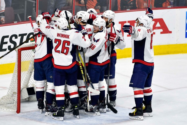 Les Capitals ont vaincu les Flyers par la marque... (PHOTO DERIK HAMILTON, USA TODAY)