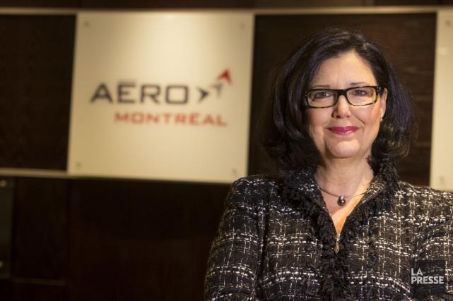 La présidente-directrice générale d'Aéro Montréal, Suzanne M.Benoît, affirme... (Archives La Presse)