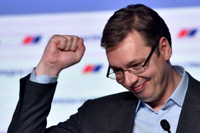 Homme fort de la Serbie depuis quatre ans,... (PHOTO AFP)