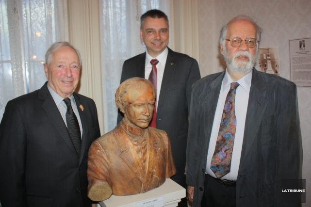 Le lieutenant gouverneur du Québec, Michel J. Doyon,... (La Tribune, Yanick Poisson)