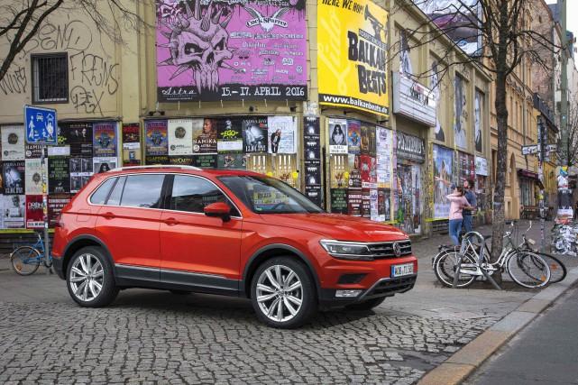 Le Tiguan 2018... (Fournie par Volkswagen)