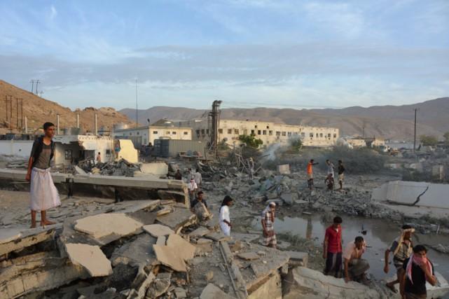 Les combattants d'Al-Qaïda dans la Péninsule arabique avaient... (PHOTO AFP)