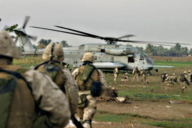 Les militaires américains en Syrie ont pour mission... (ARCHIVES AFP)