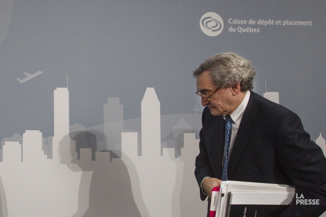 PDG de la Caisse, Michael Sabia croit avec... (Archives, La Presse)