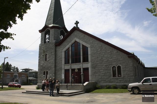 L'église de Saint-Justin fermera ses portes, probablement d'ici... (Archives Le Nouvelliste)