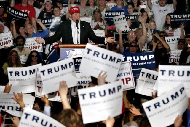 La Trump Nation, c'est d'abord un état d'esprit.... (AP, Julio Cortez)