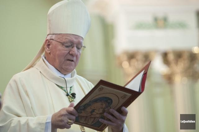 Mgr André Rivest a été ordonné prêtre en... (Le Quotidien, Michel Tremblay)