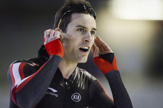 Denny Morrison a reporté quatre médailles olympiques dans... (Photo Jeff McIntosh, archives PC)
