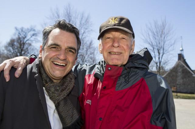 L'amitié persiste depuis plus de 40 ans entre... (Olivier Croteau)