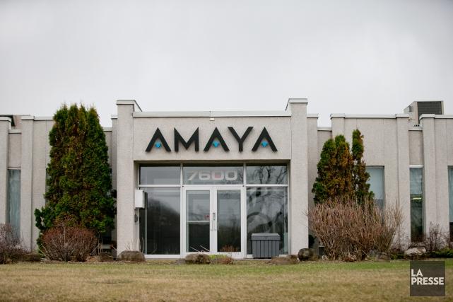 Amaya a annoncé le report de son assemblée... (PHOTO DAVID BOILY, archives LA PRESSE)