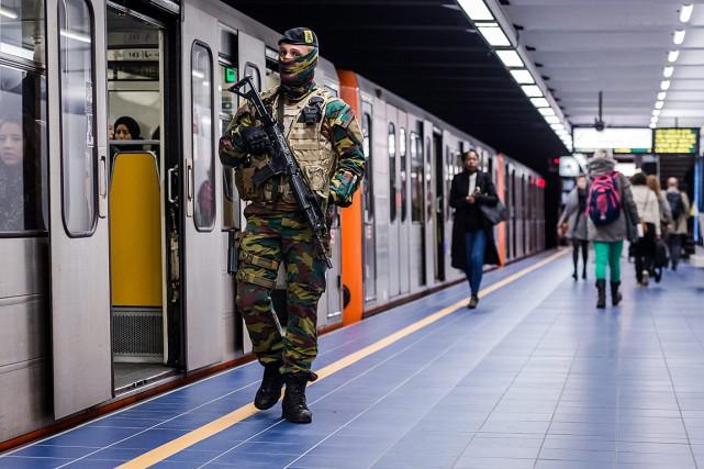 Seules différences visibles avec la situation d'avant les... (Photo Geert Vanden Wijngaert, AP)