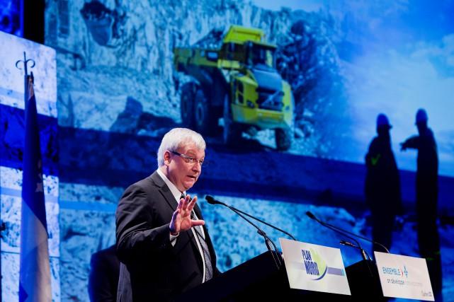 Le ministre délégué aux Mines au ministère de... (PHOTO ALAIN ROBERGE, ARCHIVES LA PRESSE)