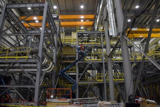 Intérieur des installations de la mine de diamants... (PHOTO TIRÉE DE FLICKR)