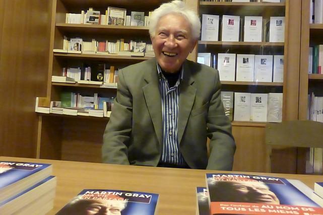 L'écrivain franco-américain Martin Gray... (Archives Dimédia)