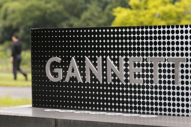 Le siège social de Gannett en Virginie.... (Photo archives Reuters)