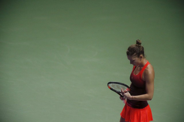 Simona Halep... (Photo Edgar Su, Reuters)