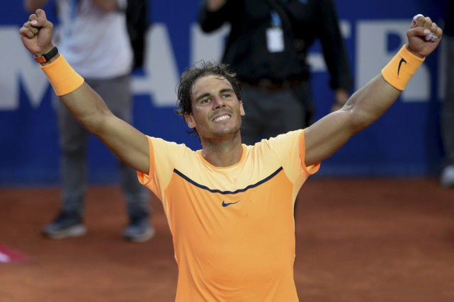 Rafael Nadal... (Photo Josep Lago, Agence France-Presse)