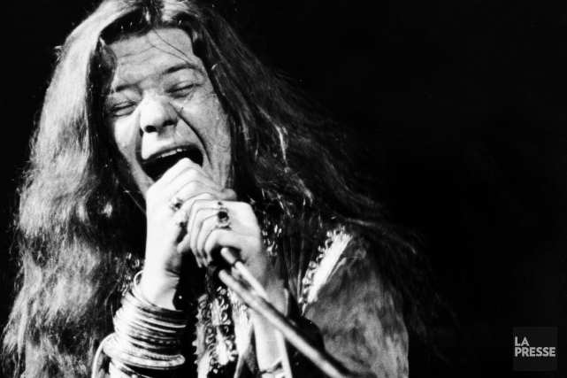 La chanteuse Janis Joplin en 1969, un an... (PHOTO ARCHIVES LA PRESSE)