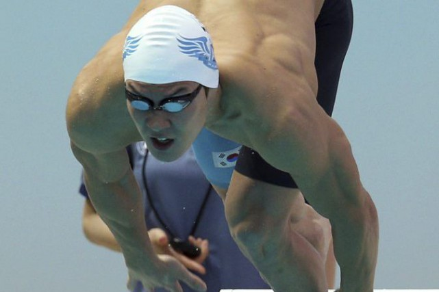 Park Tae-Hwan... (PHOTO AFP/YONHAP)
