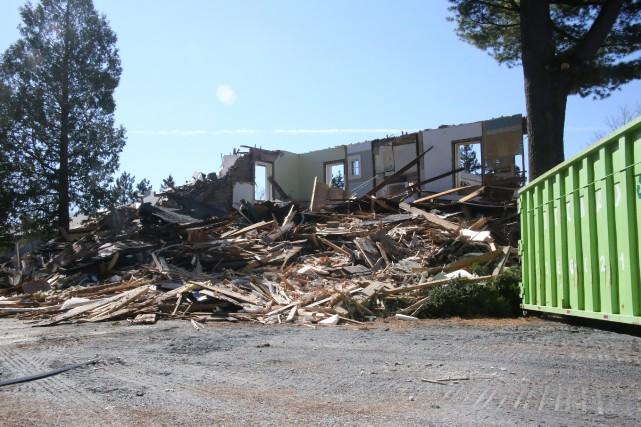 Les propriétaires ont obtenu leur permis de démolition... (Christophe Boisseau-Dion)