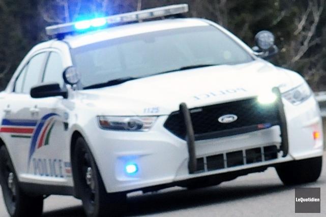 Les policiers de Saguenay sont à la recherche... ((Archives Le Quotidien))