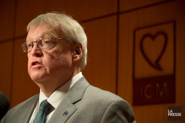 Le ministre de la Santé,Gaétan Barrette... (PHOTO OLIVIER PONTBRIAND, ARCHIVES LA PRESSE)