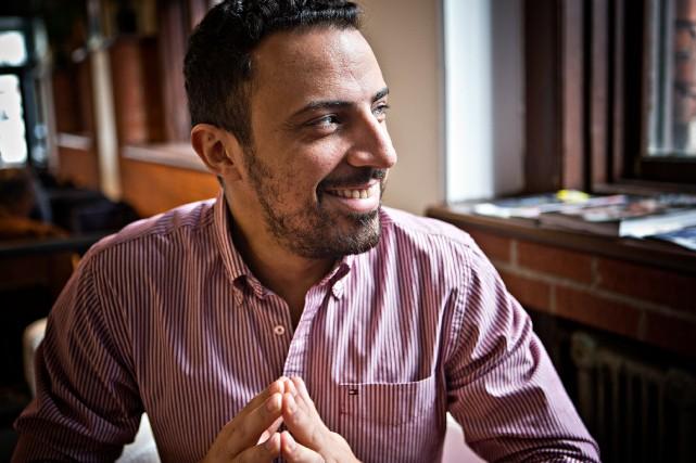 Dimitri Nasrallah est catégorique:il n'aurait pas écrit le... (PHOTO PATRICK SANFAÇON, LA PRESSE)
